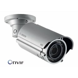 1 MP / HD 720p Infrared IP Bullet Camera, True Day/Night, 2.7-9MM Vari-focal Lens, 32 LEDs/82ft, IP66, 12 V DC or PoE, In/Outdoor
