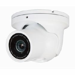 Intensificateur H série 960H dôme extérieure, objectif à focale variable de AI 2,8-12 mm, blanc luminaire