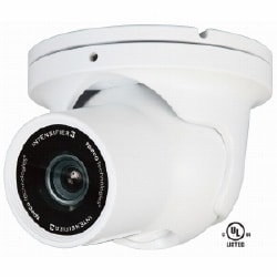 Intensifier Dome Camera, 9-22 mm AI Vari-focal Lens, White Housing