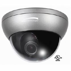 Dôme anti-vandale extérieure Intensifier3 avec Chameleon couverture, 9-22 mm objectif à focale variable, boîtier gris foncé