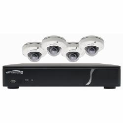 4-canal NVR 1080 p, 120 images/seconde, 1TO avec 4 extérieure IR dôme 3,5 mm