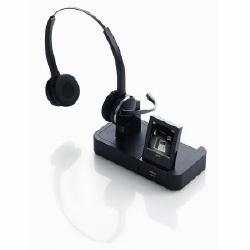 PRO 9465 (DUO)                BINAURAL CORDLESS HEADSET     TRIPLE CONNECTIVITY