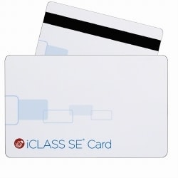 HID iCLASS SE 2K/2 13,56 MHz ISO imprimable Mag Stripe Smart Card - Keyscan Format