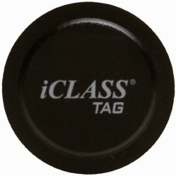 HID iCLASS Legacy SR 2K/2 13.56 MHz Contactless Smart Adhesive Tag - Keyscan Format