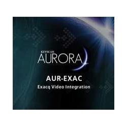 Licence d'intégration vidéo de Aurora accès contrôle logiciel IP - Exacq