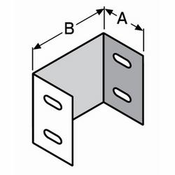 """Métal goulottes galvanisé acier couplage, 3-5/8 """"3 x-15/16"""", 870 d'UL et CSA C22,2 n ° 26, répond aux normes de l'industrie des ascenseurs"""