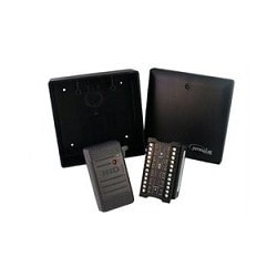 Single Door Kit: Includes eIDC32, Surface Mounting Box, HID 6005 reader