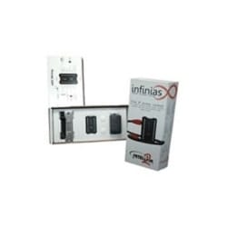 Single Door Kit: Includes eIDC32, Surface Mounting Box, Xceed ID 1050 reader, a ROFU standard strike, and Door Contacts