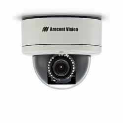 All-in-One H.264 Wide Dynamic Range MegaDome 2 caméra avec Focus distance, 1080p, 30 images/s, distance Zoom P-Iris, LEDs IR dôme IP caméra