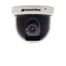 3 mégapixels, fps 21, 3,3-12 mm, H.264/MJPEG, dôme de Surface intérieure IP caméra