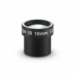 16 mm Camera, 1/2.5 in., F1.6, M12-mount; Fixed Iris, IR Corrected