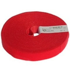 Economical Cable Tie, ECO-SCRATCH, 10 meters Roll, Red