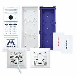 Hemispheric Door Station Camera Kit No. 2 With Keypad, White