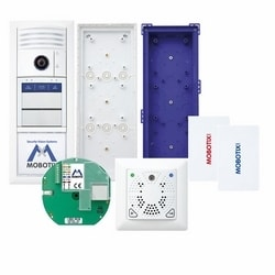 T25M Set 7 (Ethernet, Bell, DoorMaster), White