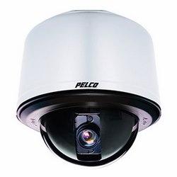Spectres HD 1080P réseau PTZ caméra dôme, 30 x Zoom optique, monture environnement pendentif en acier inoxydable, boîtier d'encastrement gris, fumé Dome