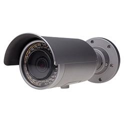 Caméra IR Bullet IP SarixTM professionnel environnement, définition Standard, PoE, 24 V, 30 IPS, jour/nuit