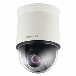 """Analogiques PTZ caméra, 1/4"""" CCD, 680 lignes, Zoom optique lentille x 27 (3,5-94,5 mm), vrai D/N, 24 V AC"""
