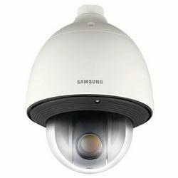 """Analogiques PTZ caméra, 1/4"""" CCD, 680 lignes, Zoom optique lentille x 37 (3,5-129,5 mm), vrai D/N, 24 V AC, IP66, IK10, intégré - 58ºF chauffage"""