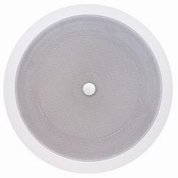 6 dans. Haut-parleur de plafond moderne Grille papier double cône avec transformateur, contrôle du Volume