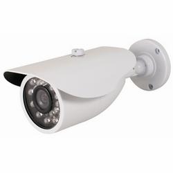 """Caméra """"Bullet"""" de IR intérieur/extérieur, blanc luminaire"""