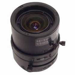 Lentille, 3,5-8 mm objectif à Iris automatique DC