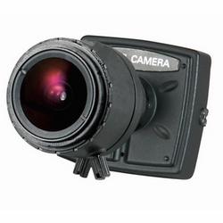 Couleur intérieure caméra avec à bord l'écran affichage fonctions, noir logement