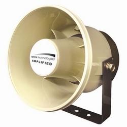 6 dans. Plastique ABS 20 Watt haut-parleur amplifié de P.A. résistant aux intempéries
