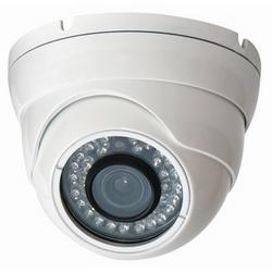 Caméra IR intérieure/extérieure de tourelle, 2,8-12 objectif mm, blanc luminaire