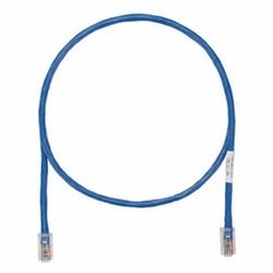 Copper Patch Cord, Cat 5e, Blue UTP Cable, 190 Ft