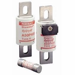 Amp-Trap A50P semiconductor protection fusible, amplis 100, 500V; tour de corps, fusibles à haute vitesse, protection du courant alternatif