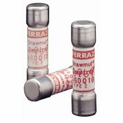Amp-Trap A60Q semiconductor protection fuse, 20 Amps, 600V; round body, high-speed fuse-links, AC protection