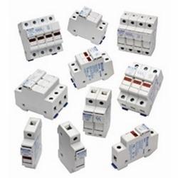 1-pôle UltraSafeTM modulaire porte-fusible avec indicateur pour fusibles midget, amplis 30, 600V