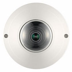 WiseNet III IP Compact Dome Camera, 2 MP 1080p HD Vandal-Resistant, f2.8mm Fixed Lens 112º Wide View Angle, 60 fps @ 1080p Full HD, WDR (120 dB), Electrical D/N, SD/SDHC/SDXC Memory Slot, IP66, IK10, PoE. Optional f2.1mm 145º Horizontal View Angle Lens