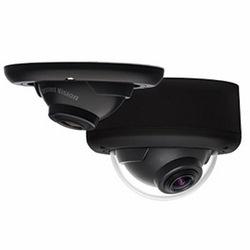 5MP MegaBallTM 2, jour/nuit, 2592 x 1944, 14 images par seconde, MJPEG/H.264, axe court de 0,98 mm et axe Long de 1,12 mm lentille panomorphe, dans-plafond/Surface Mount, Microphone, Audio Out, Dôme, 12 V DC/24 V AC/PoE, boule/Liner couleur : noir, lunette / pouvez couleur : noir