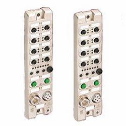 Entrée numérique LioN-R et module de sortie, 8 canaux d'entrée numériques et canaux de 8 sortie avec isolation galvanique, périphériques EtherNet/IP, adresse rotatif bascule pour la configuration des adresses, connecteur LAN M12, codage D