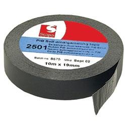 19MM X 10M BLACK              SELF AMALGAMATING TAPE        SCAPA 2501