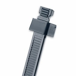 "Cable Tie, Releasable, 4.0"", Miniature cross section"