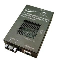 100BASE-TX RJ45 to 100BASE-FX, 1310 nm, single-mode, SC, 20 km