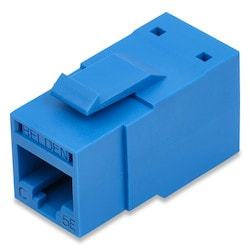 REVConnect Category 5E Modular Jack, T568 A/B, UTP, Orange (TIA), Single Pack