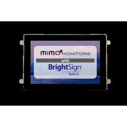 10.1 in. Open Frame USB Touch Monitor; 10-point PCAP Touch; 1280x800 IPS LCD; 350cd/m2; 800:1 CR; Viewing Angles - 85/85/85/85; 75 X 75 VESA; 1 Year Warranty. BrightSign HD3 Series Built-in Digital Signage Module