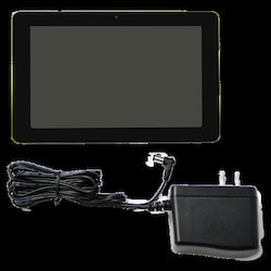 7 in. Android Tablet IPS, 5-point Touch PCAP; 1024x600 LCD; 450cd/m2; 700:1 CR; Viewing Angles - 75/75/70/75; Quad Core A9 @1.6Ghz; 2GB DDR3 RAM; 8GB Flash; Android 5.1 OS; 10/100 Ethernet; Single Band 802.11 B/g/n Wi-fi; Bluetooth; 1 X USB 2.0